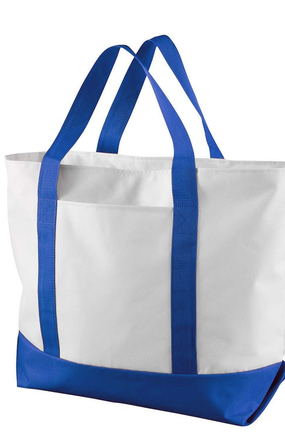 Liberty Bags 7006 White/Royal