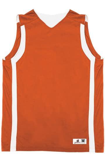 Badger B8551 Burnt Orange / White