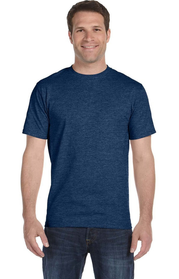 Hanes 5180 HEATHER NAVY