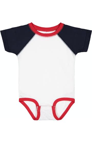 Rabbit Skins RS4430 White/ Navy/ Red