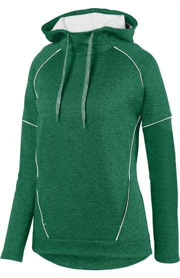Augusta Sportswear 5556 Dark Green/ Wht