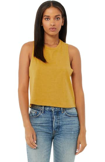 Bella + Canvas 6682 Heather Mustard