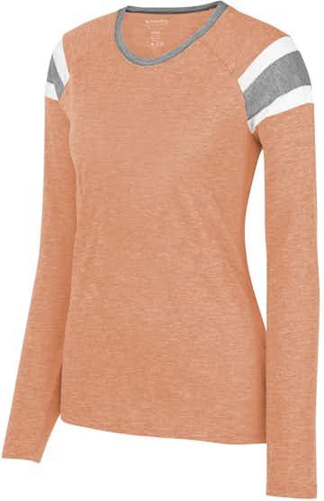 Augusta Sportswear 3012 Lt Orng/ Slt/ Wh