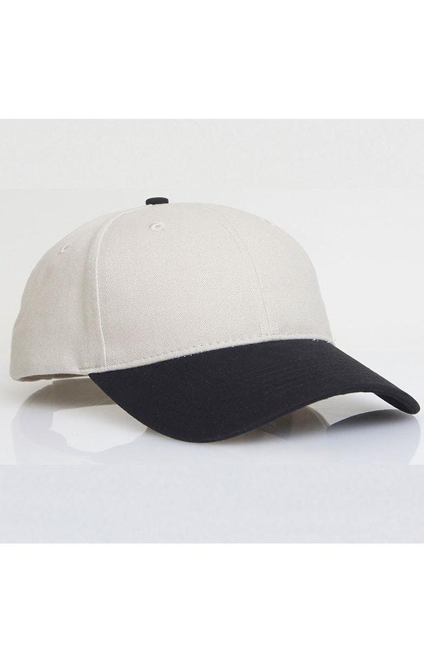 Pacific Headwear 0101PH Khaki/Black