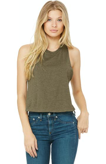 Bella + Canvas 6682 Heather Olive