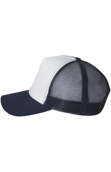Mega Cap 6886 White / Navy