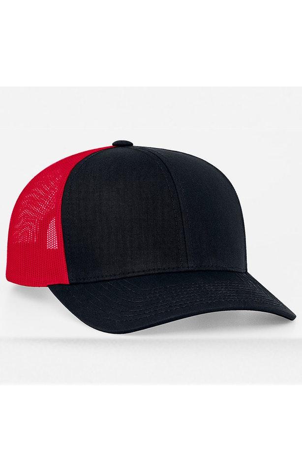 Pacific Headwear 0104PH Navy/Red/Navy