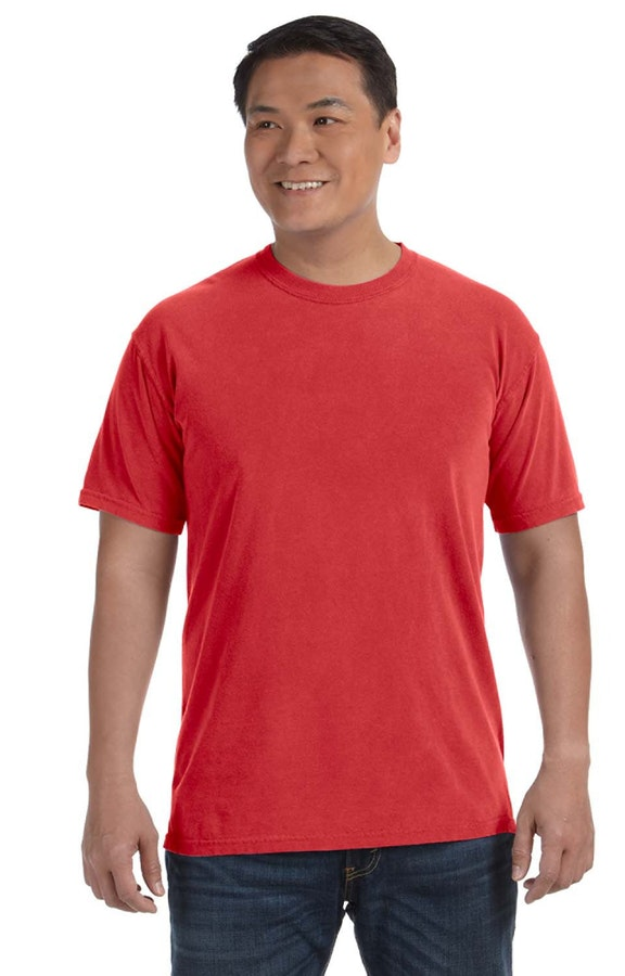 Comfort Colors C1717 Red
