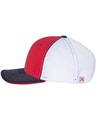Richardson 172 Red/ White/ Navy Tri