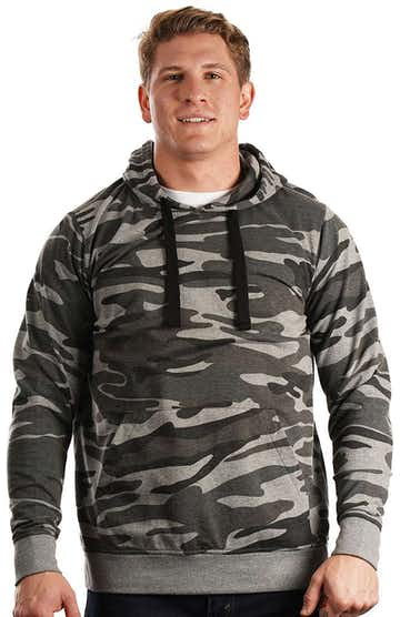 Burnside 8605J1 Black Camo