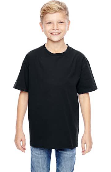 Hanes 498Y Black