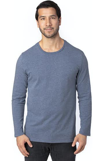 Threadfast Apparel 100LS Navy Heather