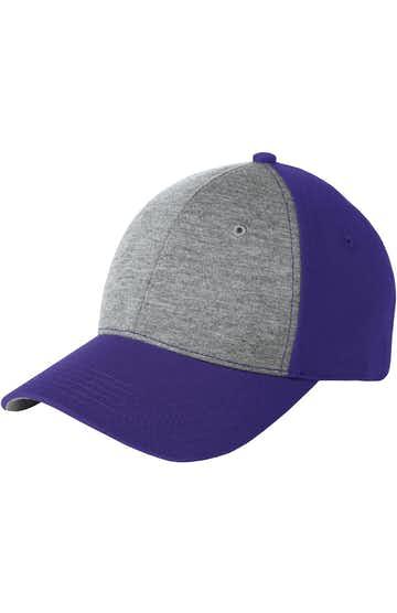 Sport-Tek STC18 Vintage Heather / Purple