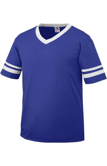 Augusta Sportswear 361 Purple / White
