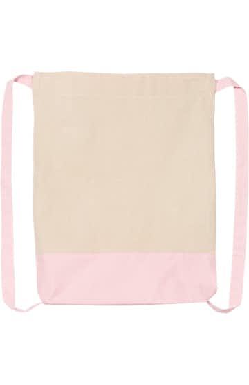 Q-Tees Q125700 Natural/ Light Pink
