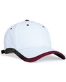 Pacific Headwear 0416PH White/Maroon