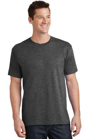 Port & Company PC54T Dark Heather Gray
