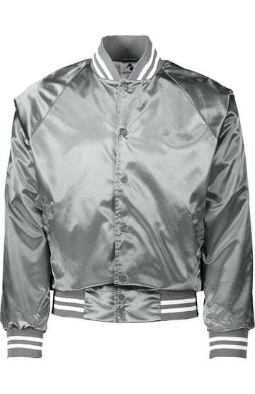 Augusta Sportswear 3610 Metallc Slvr/ Wh