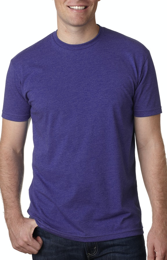 15bfde181b3b Next Level N6210 Purple Rush Men's CVC Crew