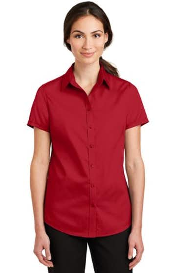 Port Authority L664 Rich Red