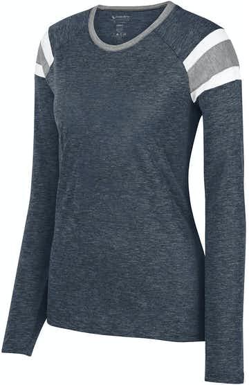 Augusta Sportswear 3012 Navy/ Slte/ Wht