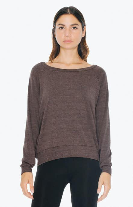 American Apparel BR394W Tri Coffee