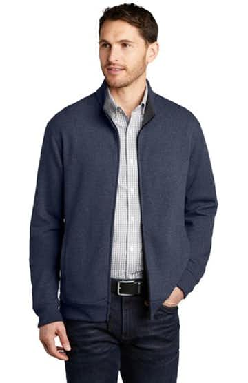 Port Authority K809 Est Blue H / Ch Heather