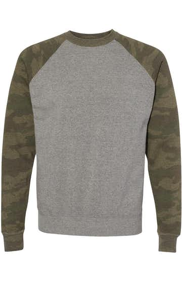 Independent Trading PRM30SBC Nickel Heather / Forest Camo