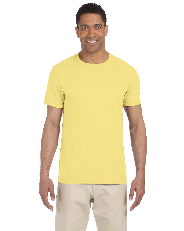 Style # G645B - Original Label Gildan Youth Softstyle 45 oz T-Shirt LIME S -