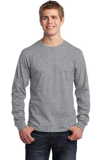 Port & Company PC54LS Athletic Heather