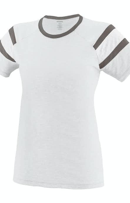 Augusta Sportswear 3011 White/ Slate/ Wh