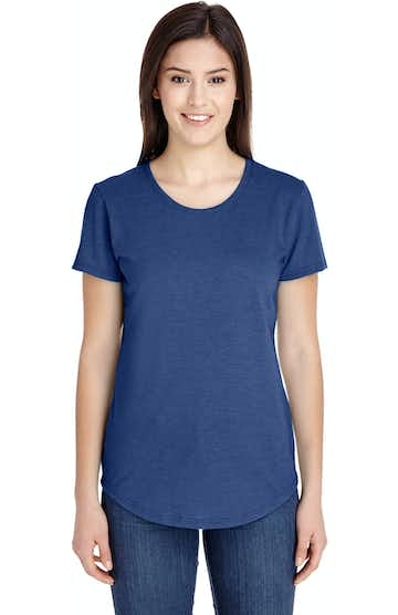 Anvil 6750L Heather Blue