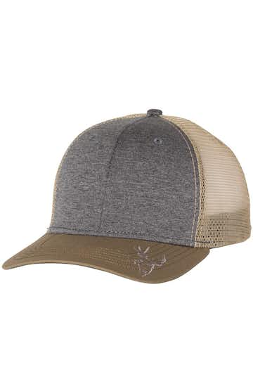 Dri Duck 3459 Heather Graphite/ Khaki