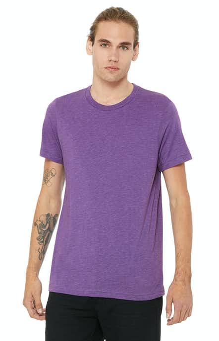 Bella + Canvas 3413C Purple Triblend