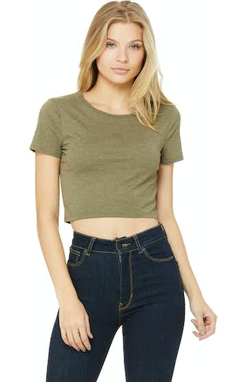 Bella + Canvas 6681 Heather Olive