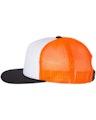 Richardson 113 White / Neon Orange / Black