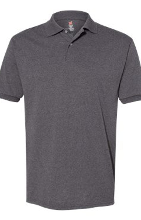 Hanes 054 Charcoal Heather
