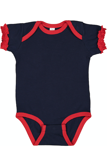 Rabbit Skins 4429 Navy/ Red