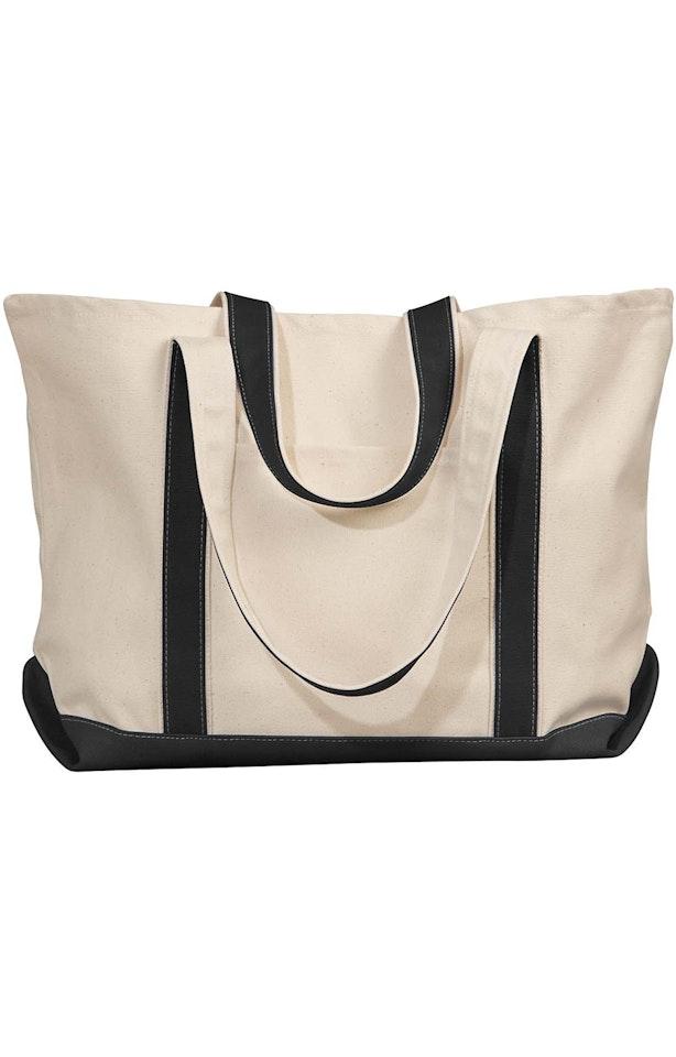 Liberty Bags 8872 Natural/Black