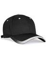 Pacific Headwear 0416PH Black/White