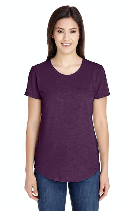 Anvil 6750L Heather Aubergine