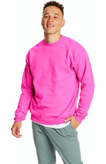 Hanes P1607 SAFETY PINK