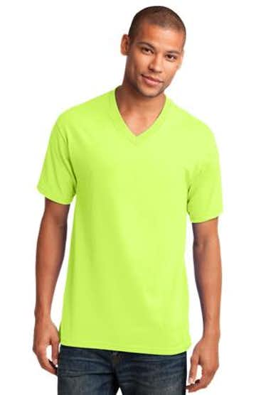 Port & Company PC54V Neon Yellow
