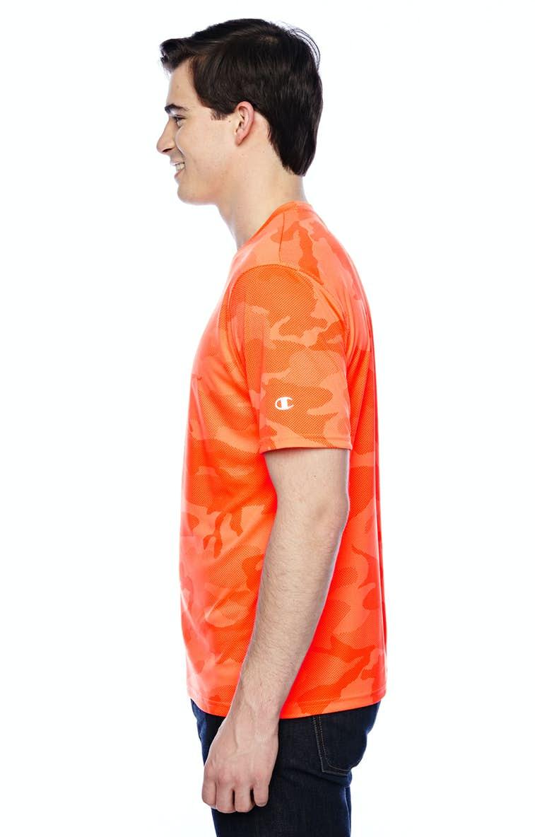 9403aa36 Champion CW22 Adult 4.1 oz. Double Dry® Interlock T-Shirt - JiffyShirts.com