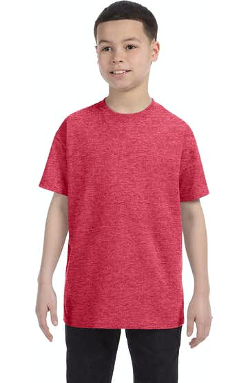 Gildan G500B Heather Red