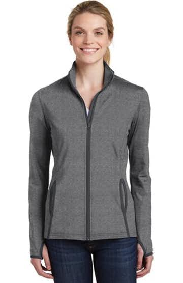 Sport-Tek LST853 Charcoal Gray Heather / Charcoal Gray