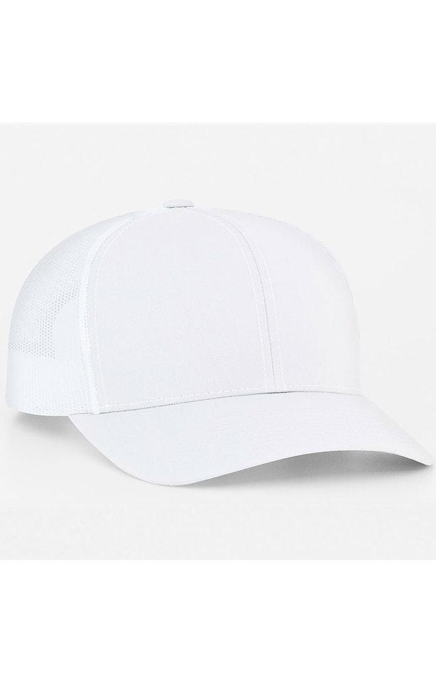 Pacific Headwear 0104PH White/White