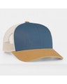 Pacific Headwear 0104PH Ocean Blue/Amber Gold/Beige