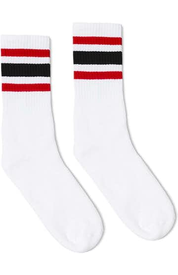 SOCCO SC100 White / Red / Black