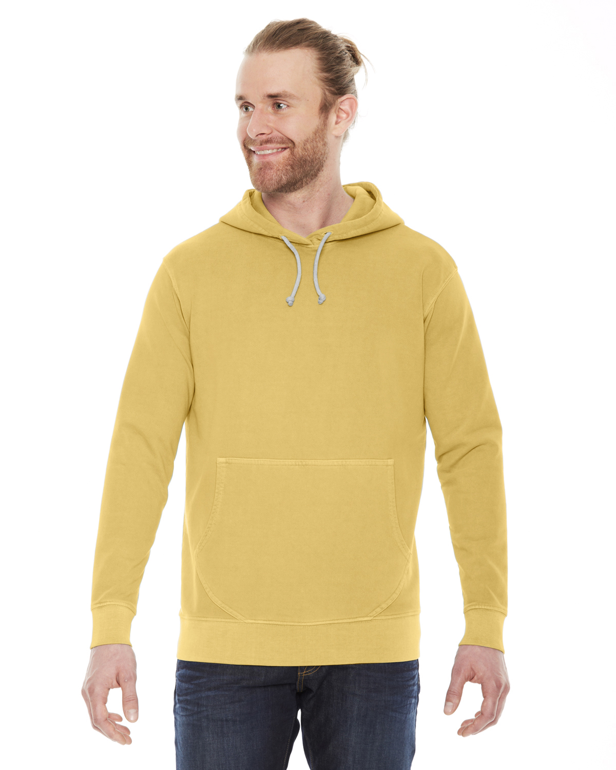 Authentic Pigment Unisex French Terry Hoodie